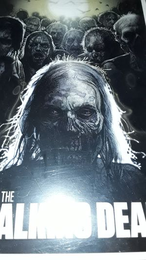AMC's THE WALKING DEAD wall poster by NECA for Sale in Mason City, IA