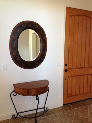 Entry Way Table and Mirror for Sale in Copperopolis, CA