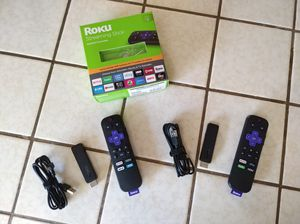 Two Roku HD streaming sticks. for Sale in Redondo Beach, CA