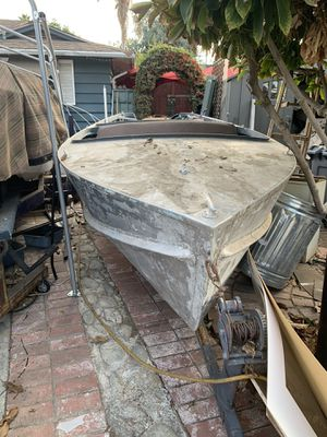 Vintage aluminum boat for sale for Sale in Azusa, CA
