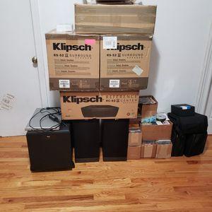 Klipsch Speaker Set for Sale in Yonkers, NY