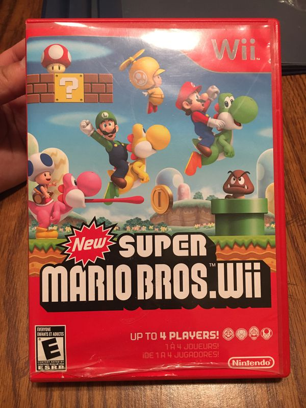 New Super Mario Bros Wii (Disc Not Working)