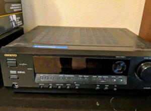 Sony Tower Speakers + Onkyo Receiver for Sale in Round Rock, TX