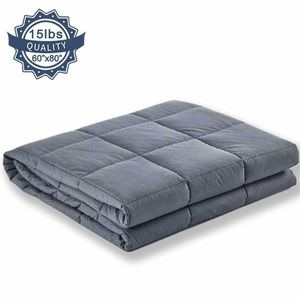 """COCOBELA Weighted Blanket for Adult and Kids, 15 lbs 60""""x 80"""", Breathable for Sale in Las Vegas, NV"""