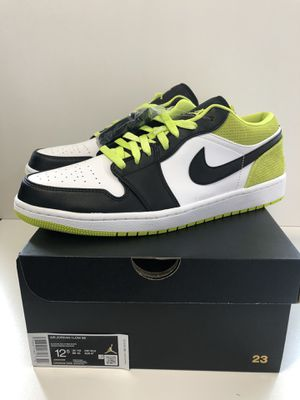 Nike Air Jordan 1 Low Cyber Men's size 12.5 DS for Sale in Gladstone, OR