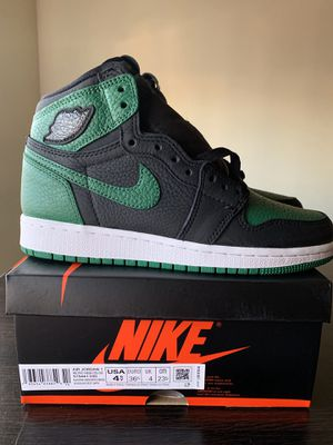 Air Jordan 1 pine green black 4.5 y for Sale in Los Angeles, CA