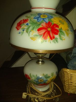 Vintage Hurricane Lamp for Sale in Penn Hills, PA