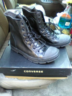 Brand New Converse all star shoes size 10 for Sale in Riverside, CA