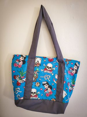 Tattoo tote bag for Sale in Highland, CA