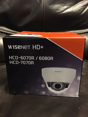WiseNet HD+ 2MP Analog HD Outdoor Dome Camera with Night Vision & Manual Varifocal Brand new in the box for Sale in Buena Park, CA