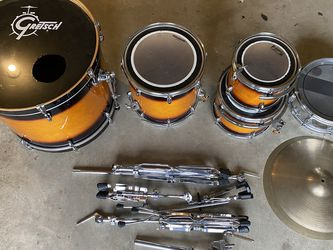 Gretsch 4 Piece Drumset & FREE Slingerland Snare and carrying case for Sale in Vancouver,  WA