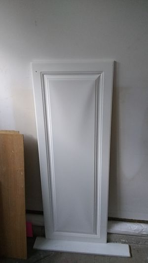 White cabinet doors for Sale in Downers Grove, IL