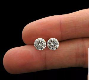 New 1.75 ct moissanite diamonds stud earrings,14k yellow gold! for Sale in Bloomfield Hills, MI