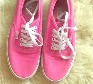 Pink Vans size 9 for Sale in Austin, TX
