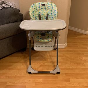Baby Highchair Chicco Brand Boy/Girl for Sale in Rialto, CA