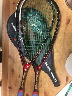 Used black knight Tennis racket for Sale in Philadelphia, PA