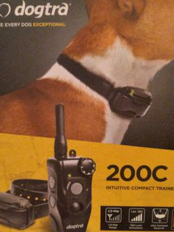 DOGTRA DOG TRAINING COLLAR AND SYSTEM for Sale in Newport Beach,  CA