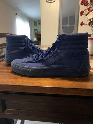 Blue high top vans for Sale in Augusta, GA