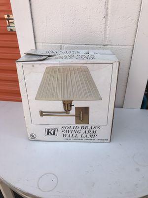 2 swing arm wall lamp for Sale in Atlanta, GA