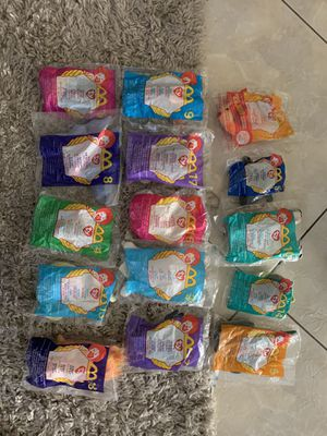 Lot of 15 Beanie Baby new with tags for Sale in Houston, TX