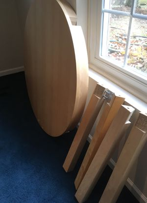 IKEA Kitchen Table and Four Matching Chairs for Sale in Fairfax, VA