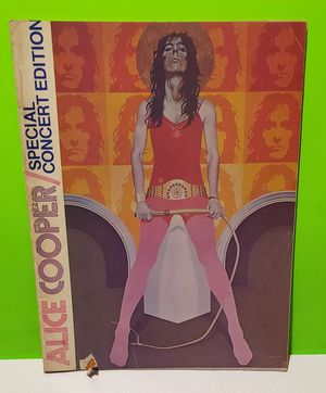 Alice Cooper Special Concert Edition w/ Fold Out for Sale in Reinholds, PA