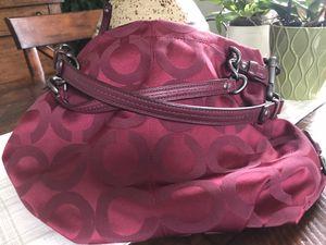 Coach signature hobo bag for Sale in Allentown, NJ