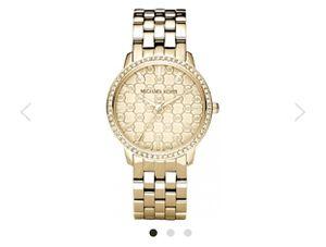 MICHEAL KORS Ladi Nini Logo Gold Tone Watch for Sale in Tulare, CA