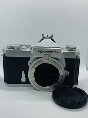 Nikkormat FTN 35mm Film Camera light and shutter Tested. Works beautifully #nikon #nikkormat #vintage for Sale in Reisterstown, MD