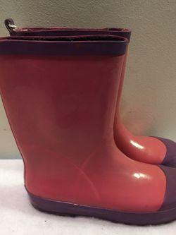 Girls size 2/3 rain boots for Sale in Cicero,  IL