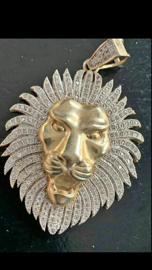 10k Real Gold Lion Pendant/Charm for Sale in Tampa, FL