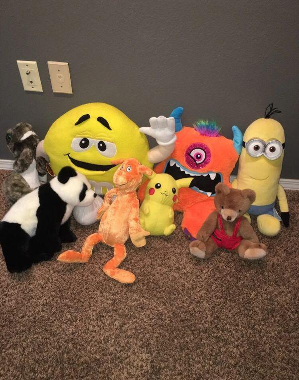 Lot of Plush Toys