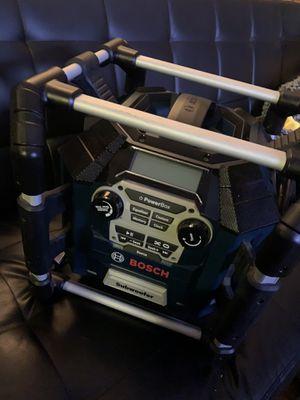 Bosh job site radio no Bluetooth for Sale in Richmond, CA