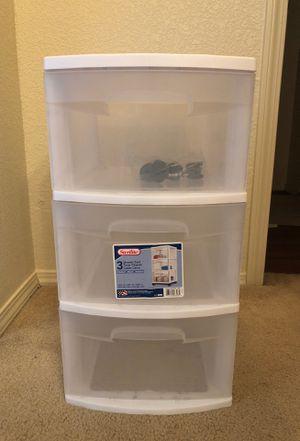 Plastic drawer for Sale in Avondale, AZ