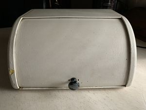 Antique Ransburg Breadbox for Sale in Rustburg, VA