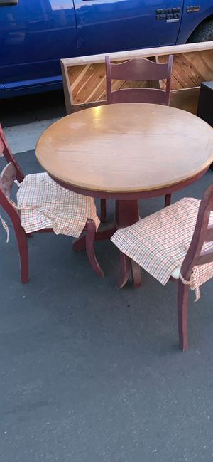Small breakfast nook table for Sale in Lancaster, CA