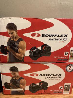 Bowflex SelectTech 552 Dumbbells for Sale in Katy, TX