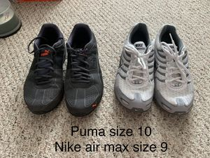 Puma (10) and Nike (9) men's shoes for Sale in Middleburg, FL
