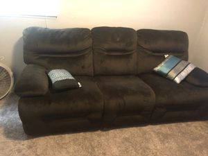 Nice recliner couch move out special for Sale in Tacoma, WA