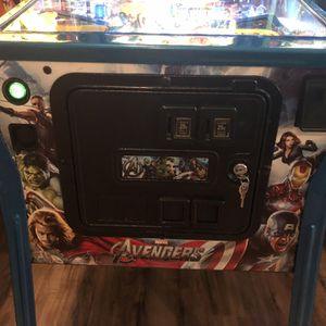 Avengers Pinball Limited edition arcade for Sale in Roswell, GA