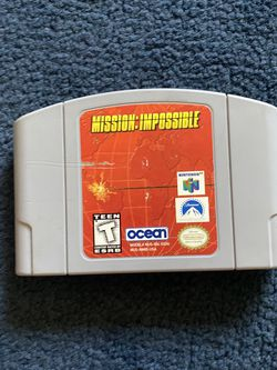 Mission Impossible N64 for Sale in Anaheim,  CA