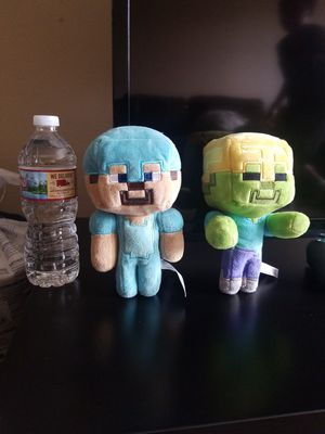 Minecraft plushies for Sale in Woodburn, OR