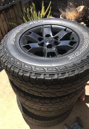 Toyota Baja rims and tires for Sale in Chula Vista, CA
