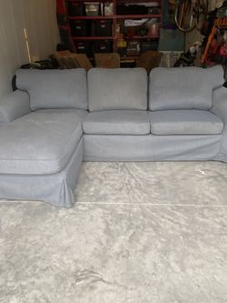 IKEA EKTORP Couch With Chaise! for Sale in Ogden,  UT