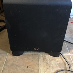 Klipsch KSW-10 Power Subwoofer for Sale in Scottsdale,  AZ