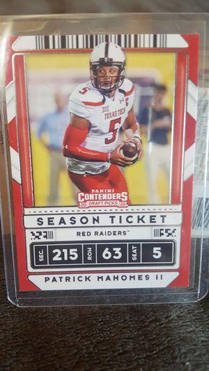 Patrick Mahomes- Season Ticket Mint for Sale in New York, NY
