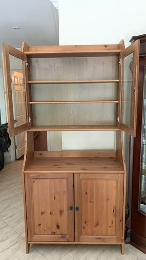 Beautiful solid wood storage unit for Sale in Boca Raton, FL