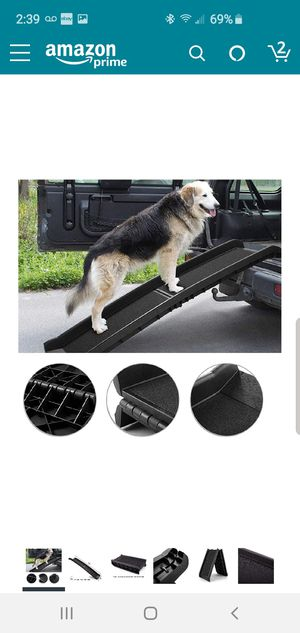 Collapsable dog ramp for Sale in Fort Lauderdale, FL