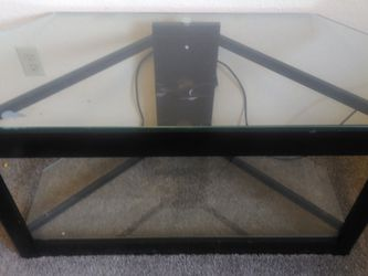 Glass TV Stand for Sale in Lynnwood,  WA