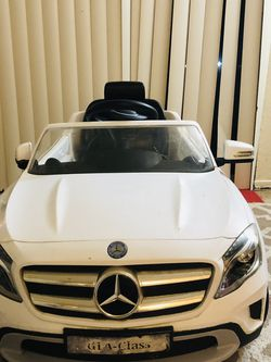 A12V Ride On Toy Car for Kids, Mercedes Benz AMG GLC63S Coupe, 2 Speed, with Music, Electric Light, Red for Sale in Beaverton,  OR